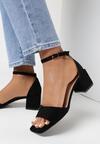 Czarne Sandały Crialodia