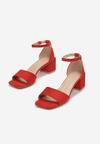 Czerwone Sandały Crialodia
