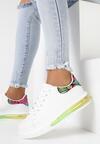 Biało-Zielone Buty Sportowe Marymara