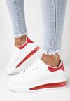 Biało-Czerwone Buty Sportowe Marymara