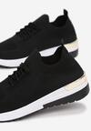 Czarne Buty Sportowe Kaigune
