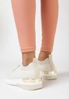 Beżowe Buty Sportowe Kaigune