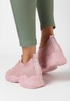 Różowe Buty Sportowe Liliphis