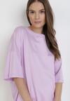 Liliowy T-shirt Wylinoth