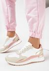 Biało-Różowe Sneakersy Vivilena