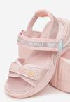Różowe Sandały Echiliria