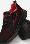 Czarno-Czerwone Buty Sportowe Ararope