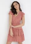 Łososiowa Sukienka Doriesura