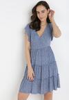 Niebieska Sukienka Doriesura