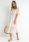 Kremowa Sukienka Nereibelle