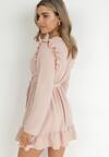 Różowa Sukienka Salape
