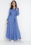 Niebieska Sukienka Celanisse