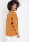Camelowy T-shirt Xanionis
