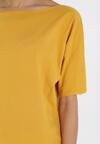 Żółty T-shirt Kissosi