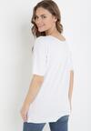 Biały T-shirt Kissosi
