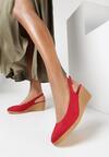 Czerwone Sandały Axiphosia