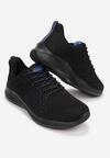 Czarno-Niebieskie Buty Sportowe Lisiax