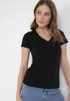 Czarny T-shirt  Sameris