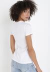 Biały T-shirt Sameris