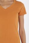 Camelowy T-shirt Sameris