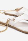 Białe Sandały Adrasanthei