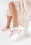 Różowe Sneakersy Lysedice