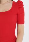 Czerwona Bluzka Ophioche