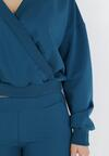 Niebieski 2-Częściowy Komplet Dresowy Euphiphei