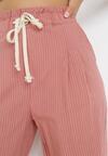 Ciemnoróżowe Spodnie Lithophi