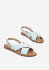 Miętowe Sandały Canter