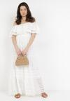 Biała Sukienka Ashossia