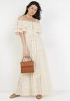 Jasnobeżowa Sukienka Ashossia