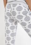 Jasnoszary 2-Częściowy Komplet Piżamowy Nyshymes