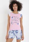 Różowy Komplet Piżamowy Phaisiphite