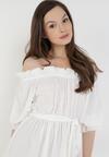 Biała Sukienka Fyserysh