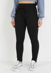 Czarne Spodnie Slim Mayaroe