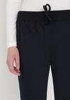 Granatowe Spodnie Dresowe Shylienne