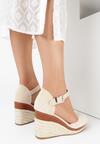 Beżowe Sandały Azaeresha