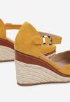 Żółte Sandały Azaeresha