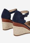 Granatowe Sandały Azaeresha