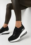 Czarne Sneakersy Azaernell