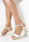Białe Sandały Sheimere