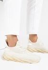 Beżowe Buty Sportowe Ariedah