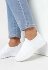 Białe Buty Sportowe Metionome