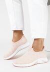 Różowe Buty Sportowe Metionome
