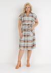 Beżowa Sukienka Cirassea