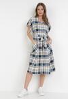 Niebieska Sukienka Cirassea