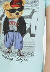 Miętowy T-shirt Leuceilla