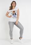 Biały T-shirt Leuceilla