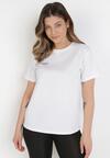 Biały T-shirt Kaphithoe